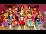 Подставки для Куклы Барби Балерины, Принцесс Диснея Маттел, Эвер Афтер Хай и Феи Дисней, Часть 2