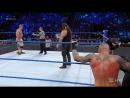 John Cena Luke Harper vs. Bray Wyatt Randy Orton: SmackDown LIVE, Jan. 31, 2017