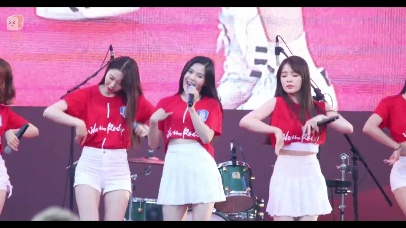 · Fancam · 180618 · OH MY GIRL (Hyojung focus) - Secret Garden · Gyeonggi Cheering Event ·