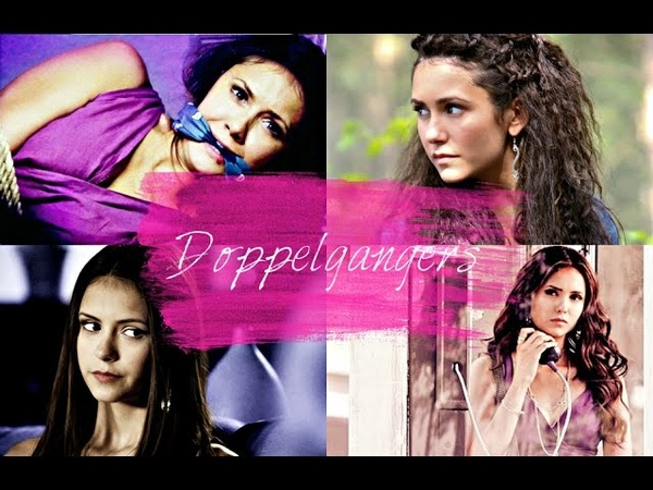 ► vampire diaries doppelgangers Amara Tatia Katherine Elena