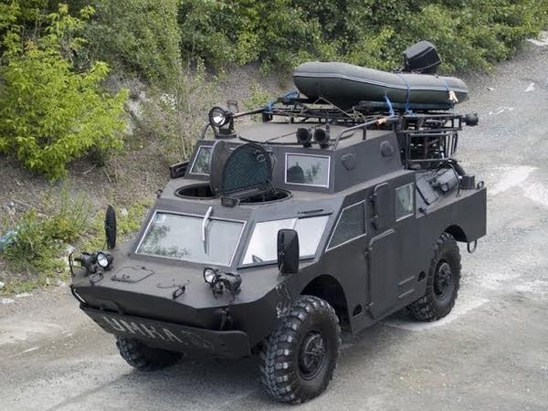 БРДМ-2 гражданский ТЮНИНГ