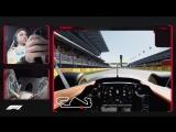Fernando Alonsos Virtual Hot Lap of Spain | 2018 Spanish Grand Prix