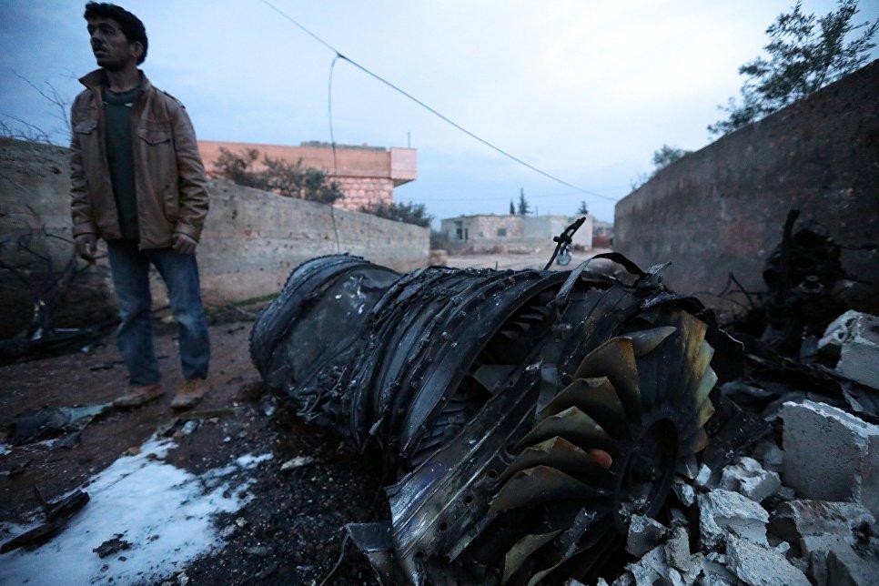 В Сирии сбит российский Су-25, пилот погиб