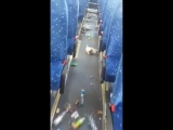 Иранские болельщики обгадили весь автобус