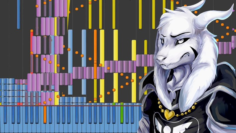 [Black MIDI] Synthesia – Undertale - Hopes and Dreams SAVE the World 60,000 ~ BusiedGem