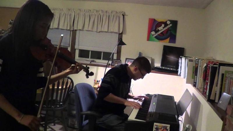 Naruto - Sadness and Sorrow (piano, violin) FT. GBritaney (AUDIO FIX)