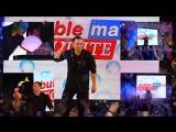 BubbleMan Илья в Малахите - шоу мыльных пузырей на показе PHOTOKIDS