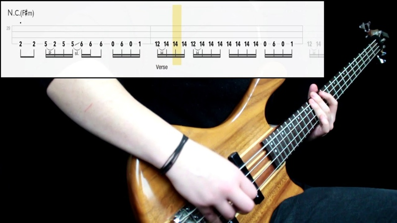 Ghost From The Pinnacle To The Pit Bass Cover Play Along Tabs In Video