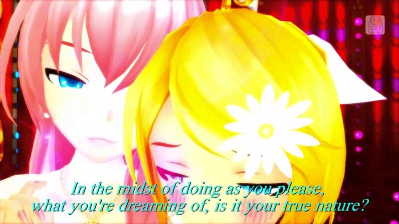 Hatsune Miku Project DIVA F 2nd 『Pomp and Circumstance』English subtitles