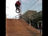 Brett Silva BMX Trick