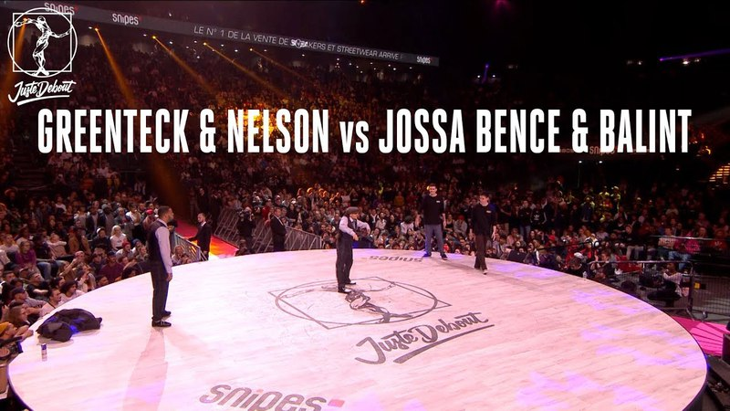 Popping battle Greenteck Nelson vs Jossa Bence Balint | Danceproject.info