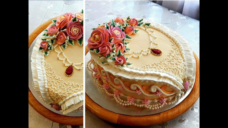 УКРАШЕНИЕ ТОРТОВ, Торт АНЖЕЛИКА от SWEET BEAUTY СЛАДКАЯ КРАСОТА , Angelica Cake Decoration