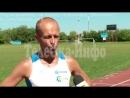 Виталий Петерсон стал серебряным призёром Мининского марафона