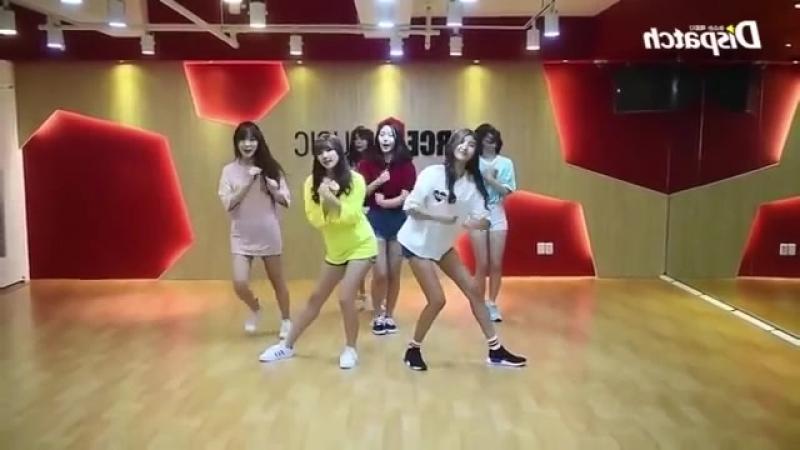 Gfriend navillera dance mirror dance slow