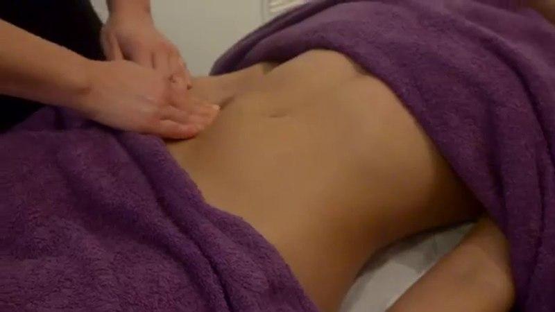Deep tissue massage - Stomach