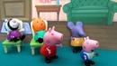 Свинка Пеппа у ДОКТОРА. Пеппа с друзьями в больнице. Играю игрушками