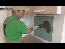 Нажимные люки АлюКлик М Revizor в авторском проекте кухни