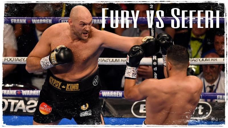 Tyson Fury vs Sefer Seferi (Highlights)