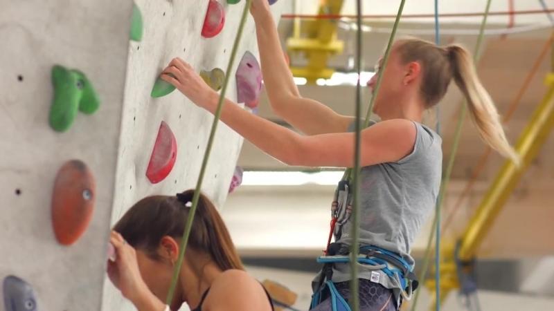 Тренировка «Пляжников» на скалодроме «Panorama»