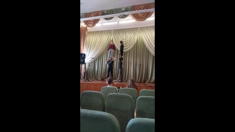 Послеконцертное обучение чирлидингу