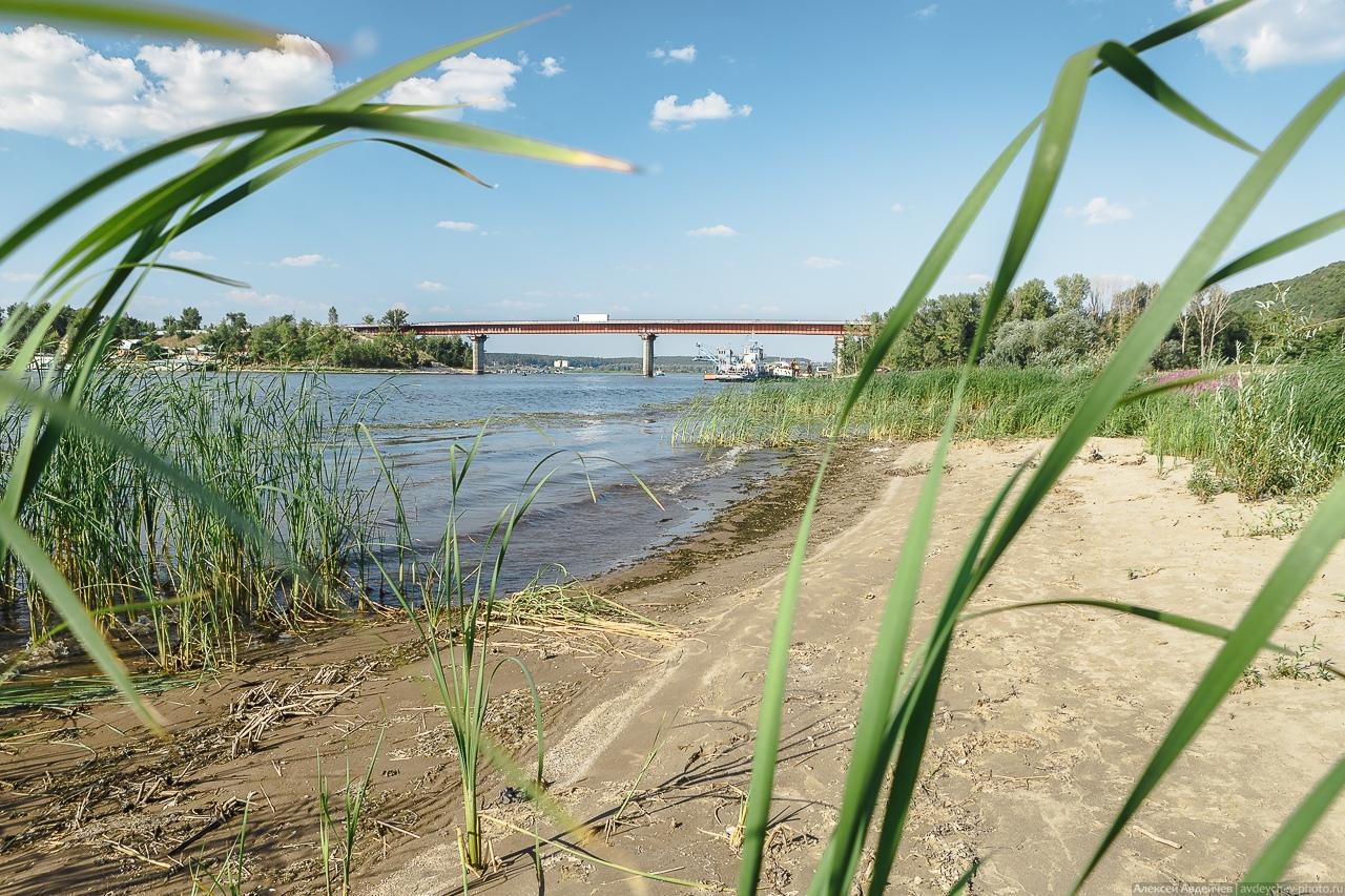 Устье реки Сок, Сокский мост