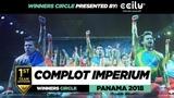COMPLOT IMPERIUM 1st Place Team Winners Circle WOD PANAMA 2018 #WODPANAMA2018