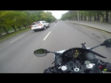 Неадекватная езда по городу на мото (без монтажа) 4K __ Inadequate riding on mot