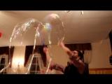 Шоу мыльных пузырей (любительская съемка)