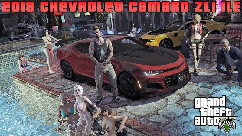 Gta 5: 2018 Chevrolet Camaro ZL1 1LE (Showcase) [RELEASE]
