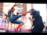 Spider-Man PS4 NEW GAMEPLAY (Iron Spider Suit, 2099, Dark Suit & Homemade Suit)