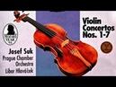Mozart - The Violin Concertos n°1,2,3,4,5,6,7 (recording of the Century : Josef Suk/Hlaváček)