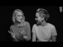 Emma Stone and Jennifer Lawrence for W Magazine