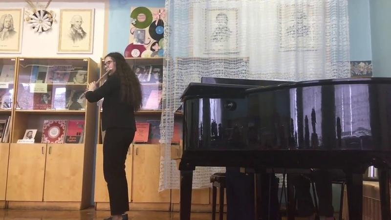 Собянина Елизавета - Андерсен Баллада и танец сильфов