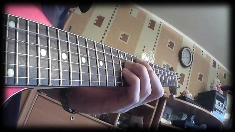 U.D.O. Steel Hammer - Man And Machine (U.D.O. Guitar Cover)