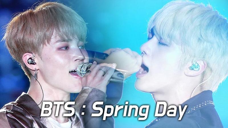 180622 BTS : 봄날 Spring Day : LED FANCAM : LOTTE FAMILY CONCERT 2018 : 방탄소년단 防弾少年団
