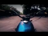 Crazy rider on the Soviet bike IZ Jupiter 5 ИЖ ЮПИТЕР 5