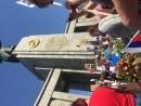 Берлин 09.05.2018 Мы прошли в строю от Бранденбургских ворот до памятника защитникам Берлина!