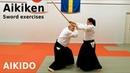 AIKI KEN, aikido sword basic irimi entering exercises, by Stefan Stenudd, 7 dan Aikikai shihan