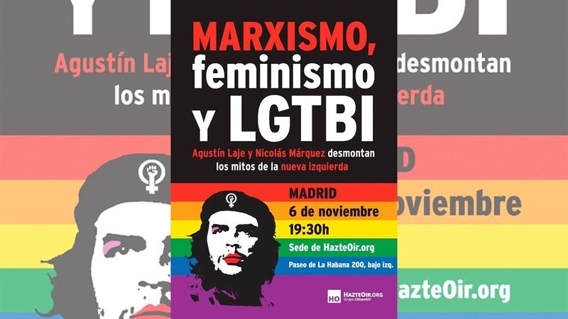Conferencia 'Marxismo, feminismo y LGTBI' con Agustín Laje y Nicolás Márquez
