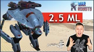 War Robots - Mender MK2 на Corona и Halo 2.5 миллиона урона!!!