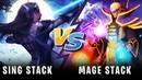 Sing Stack vs magE Stack Game 1 SingSing Dota 2 Highlights 1283