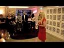 Zouk Flashmob Lambazouk dancers at the launch of Pamela Stephenson's book The Varnished Untruth