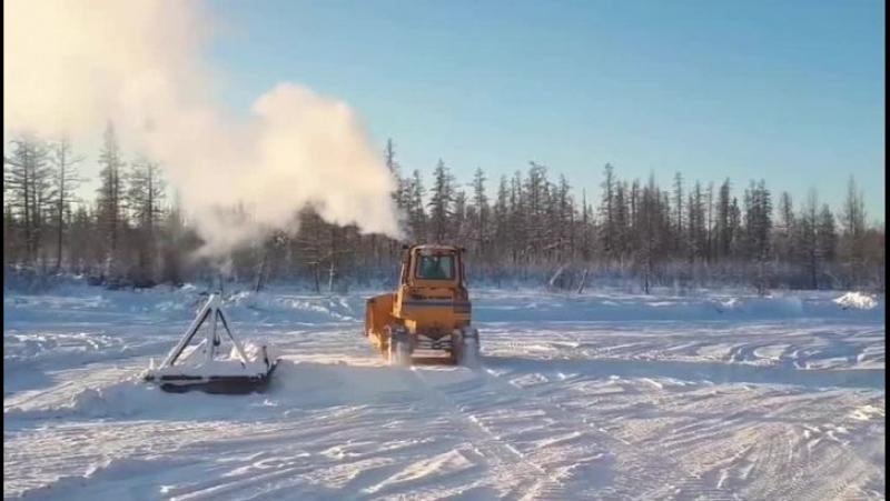Зима в Якутии ставит леденящие рекорды!