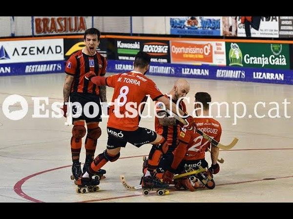 Хоккей на квадах: Reus Deportiu 7-2 HC Liceo (Евролига)