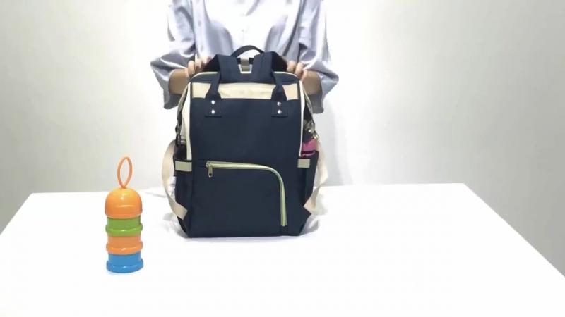 Рюкзак для мам (видеообзор)