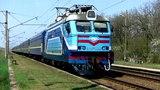 ВЛ40У-1412.2 с двухгруппным поездом №2636 Пшемысль - (Рахов) - Одесса