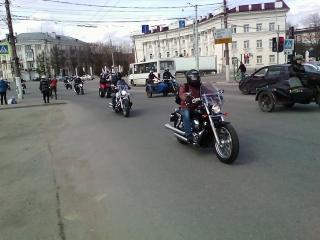 ОТКРЫТИЕ МОТОСЕЗОНА Тверь 2018-ПРИБЫТИЕ КОЛОННЫ.