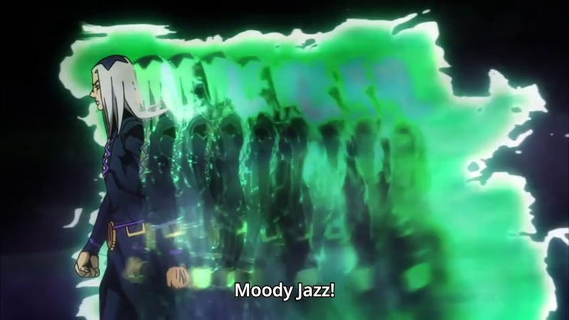 Abbacchio activates his stand - Moody Jazz/Moody Blues (1080p 60fps)