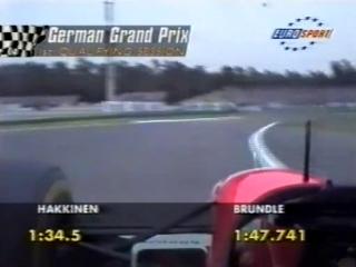 F1 1994. 09. гран-при германии, квалификация