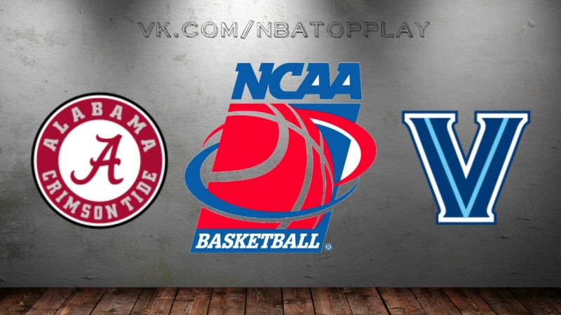 Alabama Crimson Tide vs Villanova Wildcats | 17.03.2018 | 2nd Round | NCAAM March Madness 2018 | Виасат | Viasat Sport HD RU
